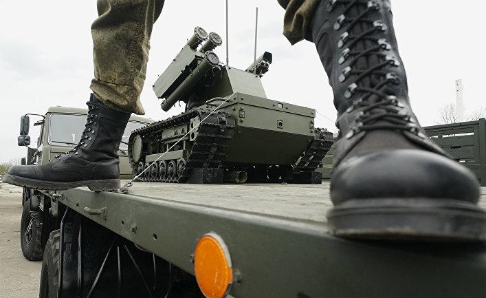Рынок военных роботов и искусственного интеллекта